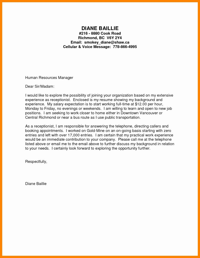 Entry Level Dental Assistant Resume New Cover Letter Human Resources Position No Experie Dental Assistant Cover Letter Dental Assistant Cover Letter For Resume
