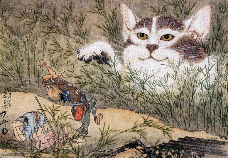 Ghost Cat |  Kawanabe Kyōsai