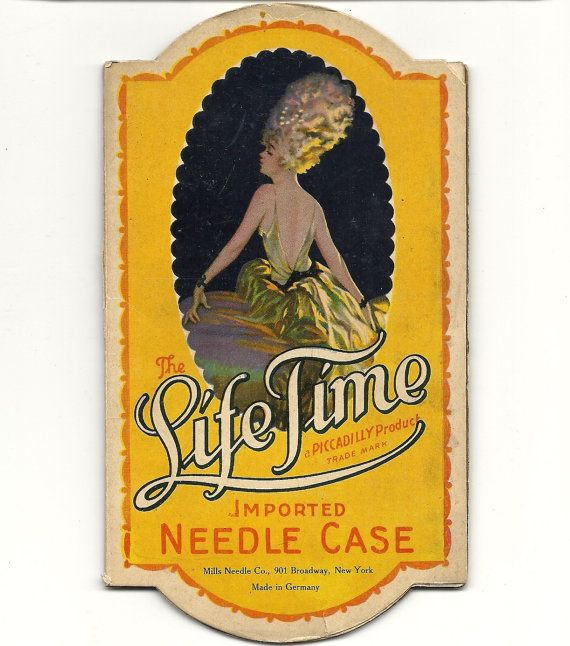 Lifetime Vintage Sewing Needle Book