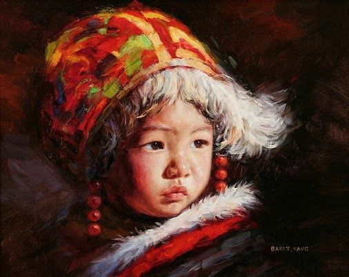 """ART UNIVERSE - Google+ - Children Paintings By Chinese Painter """"Barry Yang"""". FOR…"""