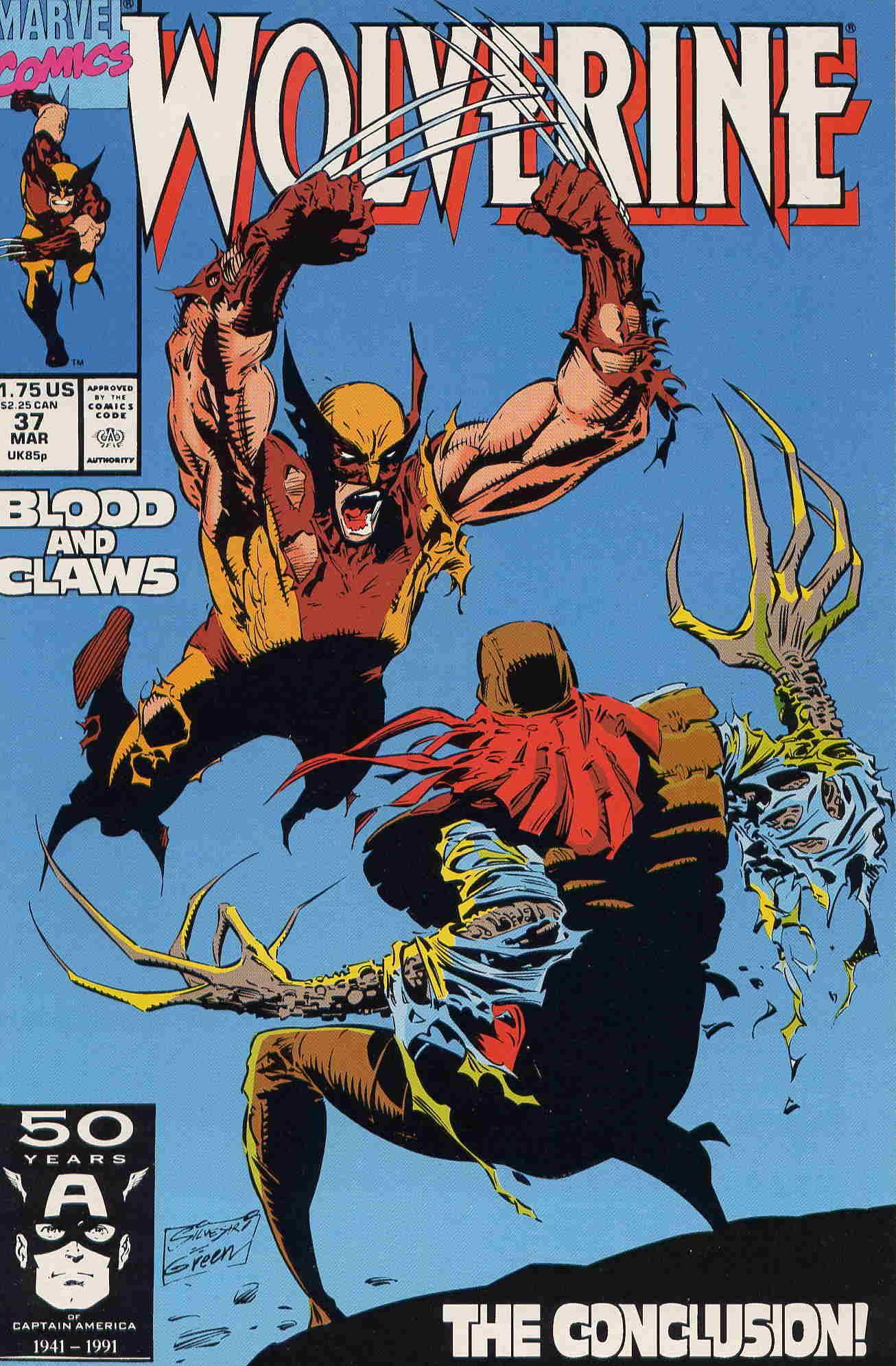 0295a327656 Wolverine (vol.1) #37 by Marc Silvestri #LadyDeathstrike   Favorite ...