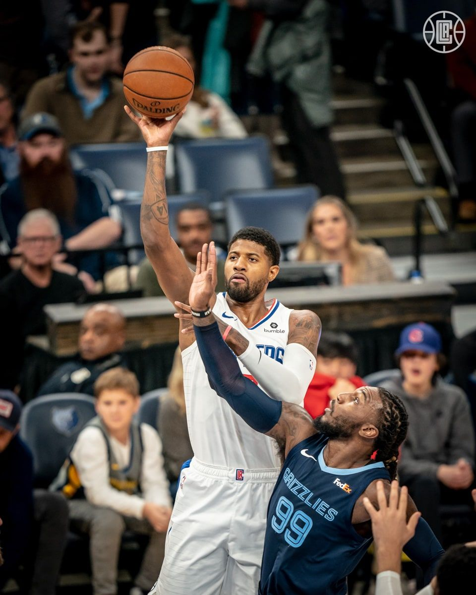 Gallery Clippers Vs Grizzlies 11 27 19 Los Angeles Clippers Los Angeles Clippers Paul George 13 Nba Players