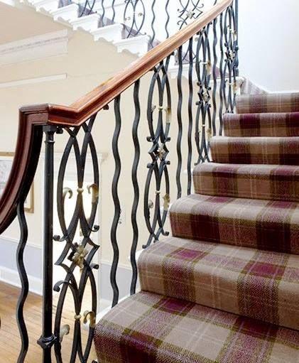 David Dangerous Entrance Hall Victorian House: We Love Stevens & Grahams Tartan Carpets And Rugs