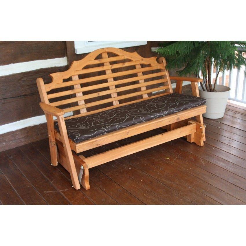 Cedar 6 Marlboro Glider A L Diy Bench Outdoor Pallet Furniture Outdoor Outdoor Glider