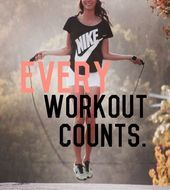 every workout counts #fitness #motivation #exercise   - Women's Fitness - #counts #Exercise #fitness...