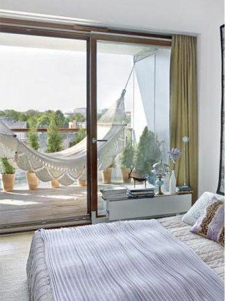 Ideas para tener una hamaca en casa Balcones, Terrazas y Hamacas - hamacas colgantes