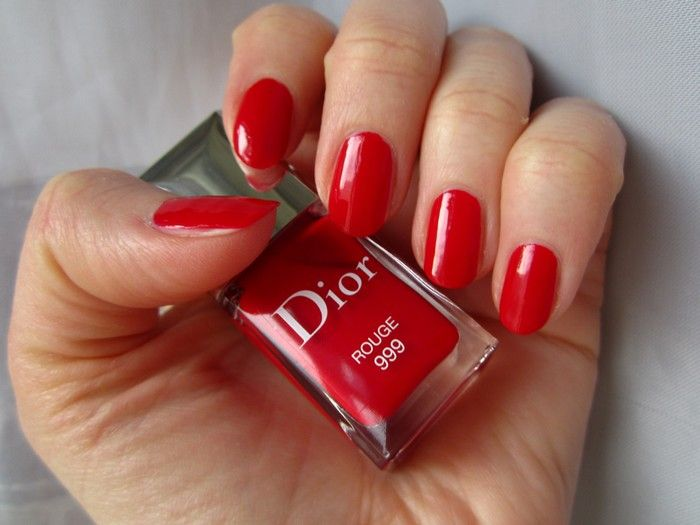 dior 999 rouge my nail polish pinterest. Black Bedroom Furniture Sets. Home Design Ideas