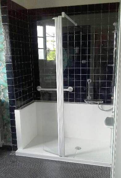 porte baignoire douche html
