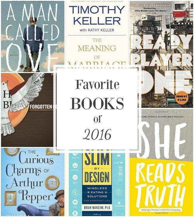 My Top Books Read in 2016 {+ the first books for 2017} | Yes