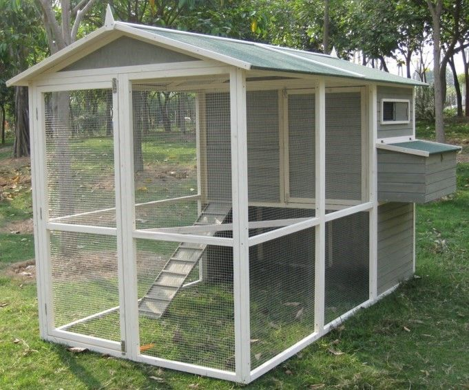 "Walk In Chicken House coops & feathers extreme walk-in chicken coop, 74"" height 220-10"