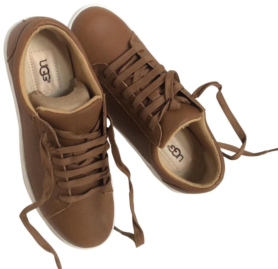 Chestnut Karine Leather Sneakers ktmart
