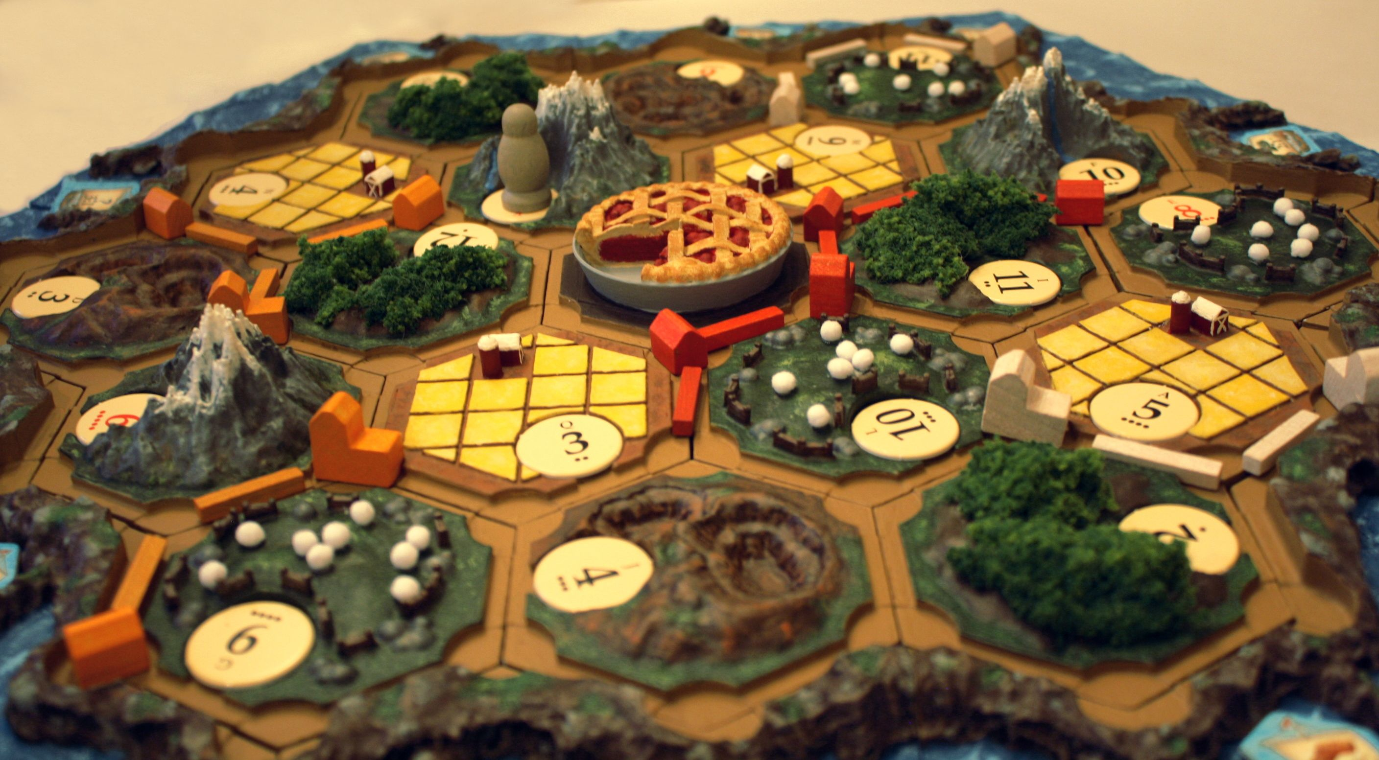 It is a picture of Versatile Settlers of Catan Printable