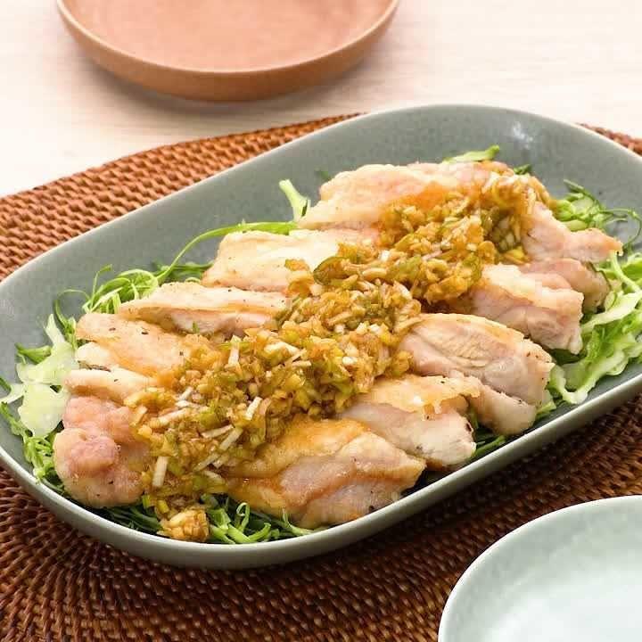 Photo of カリカリ食感♪焼き油淋鶏