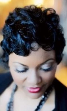 Waves Hairstyle Delectable Hairstyle For Plus Size Women  Finger Waves Wave Hairstyles And