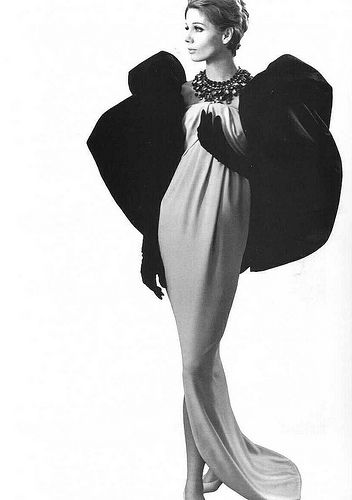 Evening gown by Balenciaga, 1961 | Flickr - Photo Sharing!