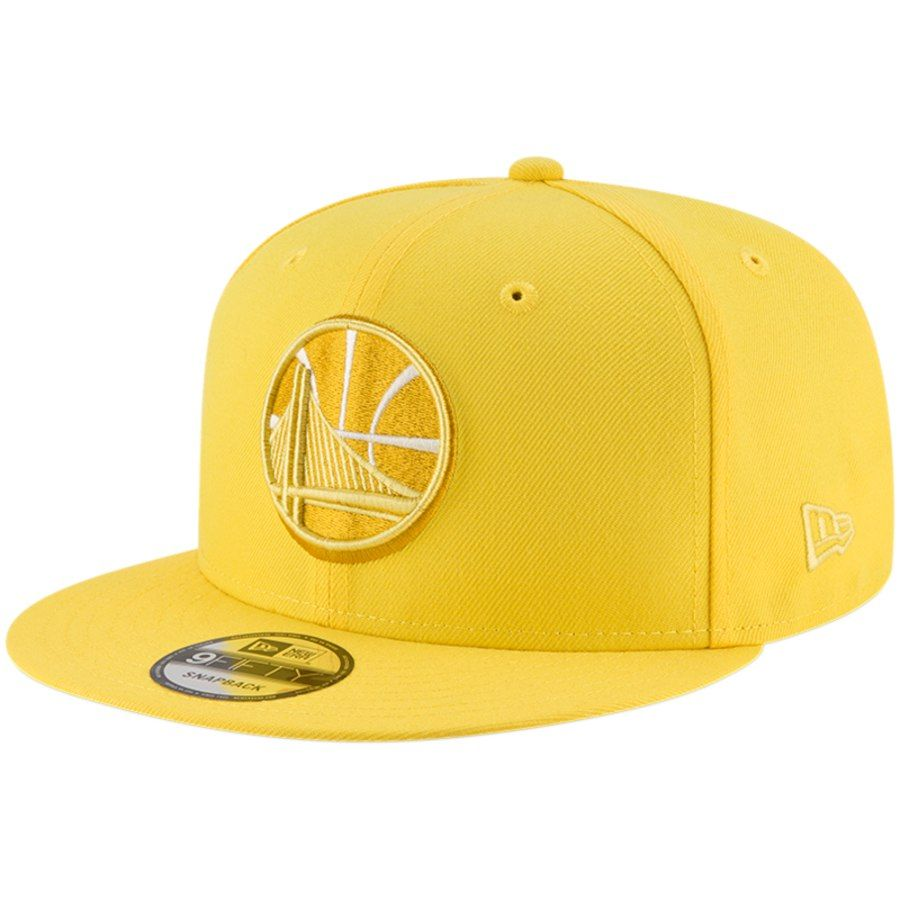 pretty nice 4fe44 0c059 Men s Golden State Warriors New Era Yellow League Pop 9FIFTY Adjustable Hat,   29.99
