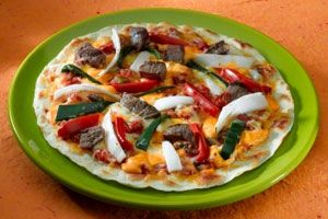 Dr. Dow's Booster Pizza - from Dr. Oz's site