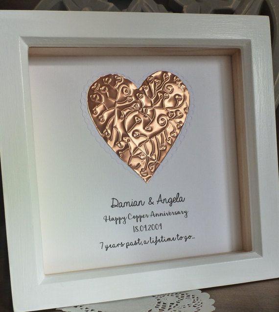 7th wedding anniversary gift copper anniversary by TimeForGift & 7th wedding anniversary gift copper anniversary gift 7th copper ...