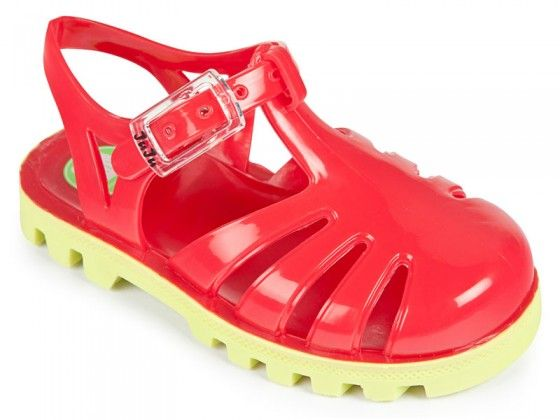 Cherry Lime Jelly Shoes