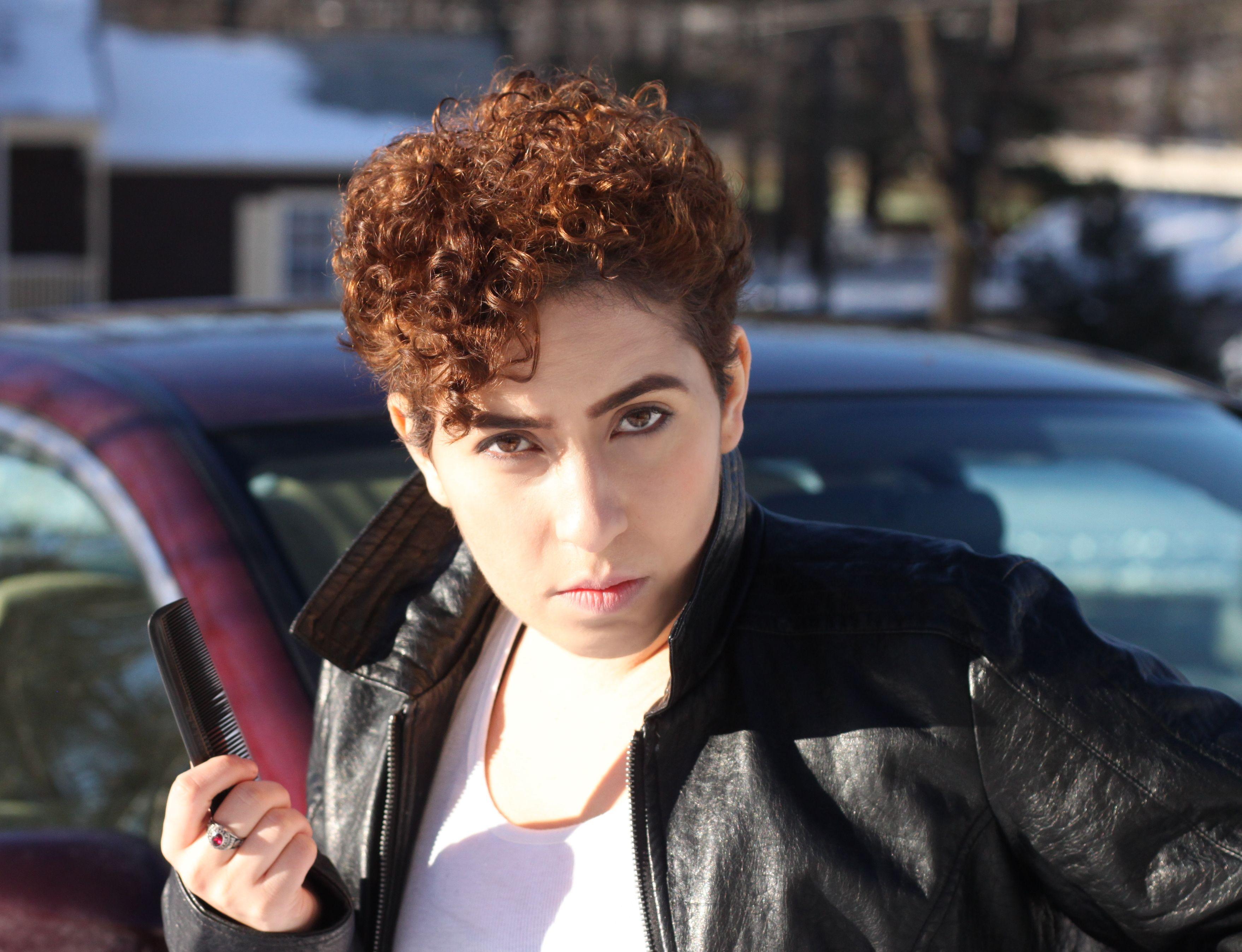 makeup boy man gender expression b greaser leather