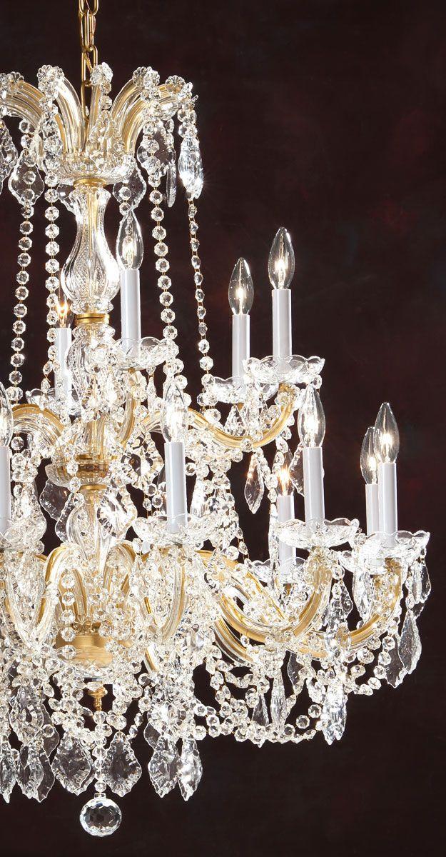 Maria theresa style crystal chandelier crystal chandeliers crystal maria theresa style crystal chandelier crystal chandeliers crystal lighting ideas aloadofball Gallery