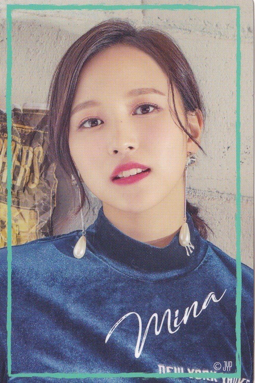 Twice Mina Wake Me Up Lucky Draw Sticker Sana Y Oppas