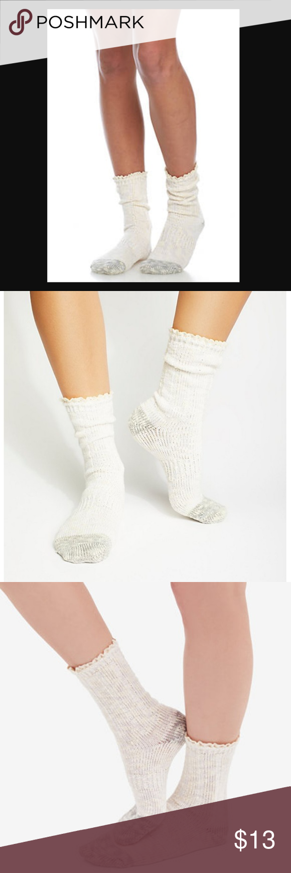 Free People Melbourne Boot Socks Neutral 1 Sz NWT NWT   Boot