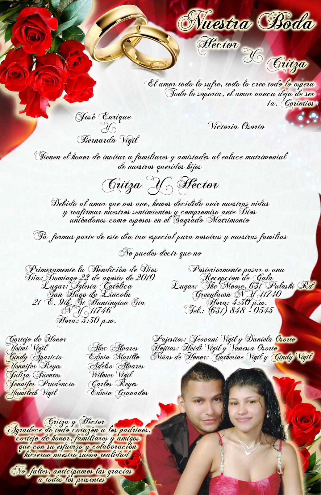 Imagenes De Invitaciones Boda