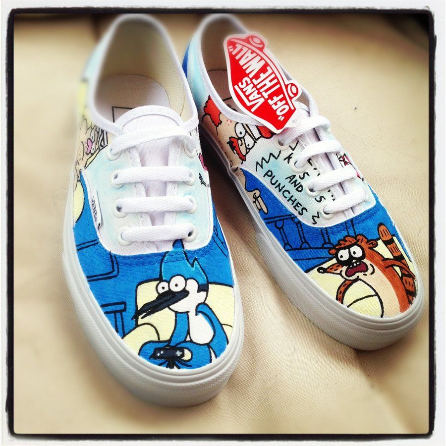 Regular Show Vans Death Punchies