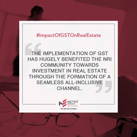 Impactofgstonrealestate The Implementation Of Gst Has Hugely