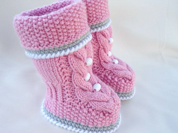 P A T T E R N Baby Booties Baby Shoes Pattern By Solnishko43 Baby