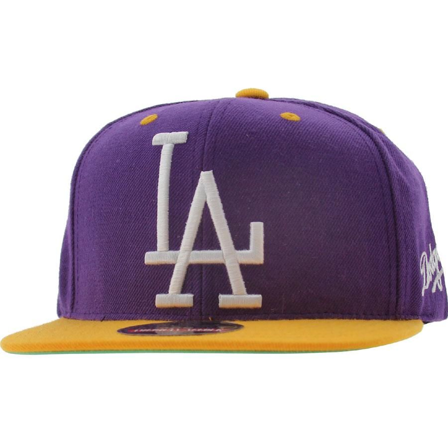 sneakers for cheap b6302 93239 Mitchell and Ness Los Angeles Dodgers Snapback Cap (purple gold) - PYS.com  Exclusive.  19.99