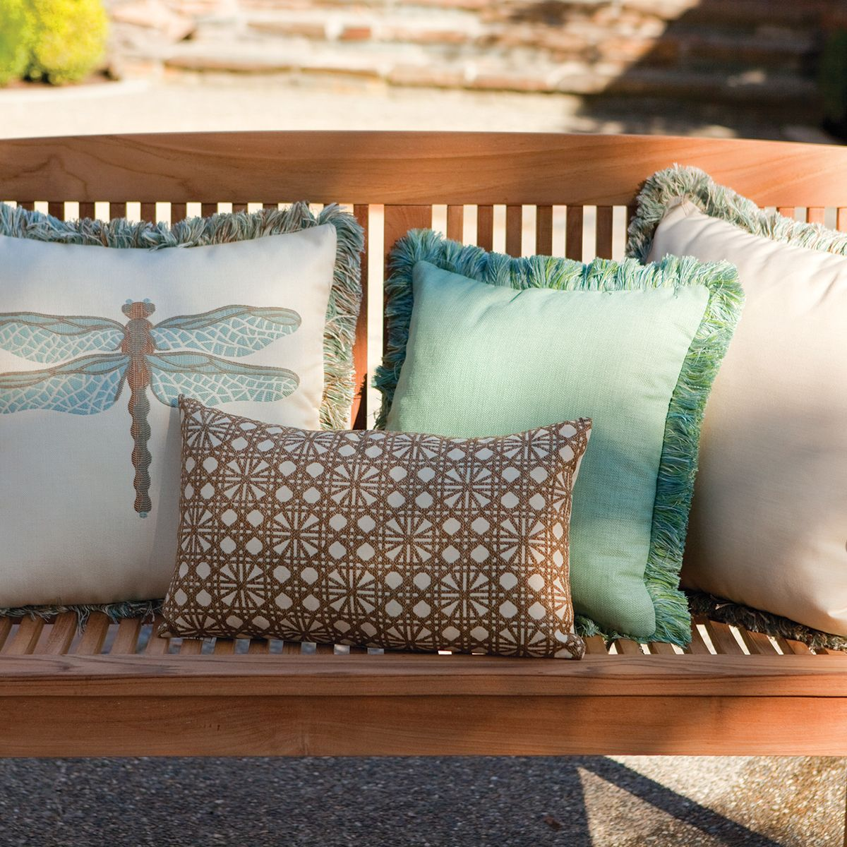 Outdoor Pillows Ffrom Elaine Smith | Thos. Baker