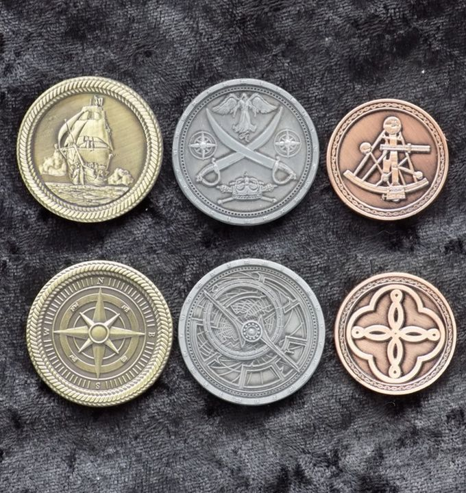 Standard sizes | Poker Table | Pirate coins, Games, Coins