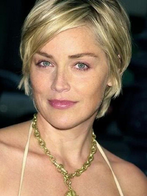 104 Hottest Short Hairstyles For Women In 2021 Sharon Stone Short Hair Thin Fine Hair Cute Hairstyles For Short Hair