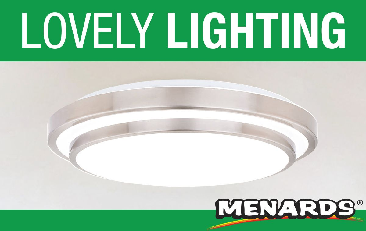 The sleek and clean design of this patriot lighting led flush mount