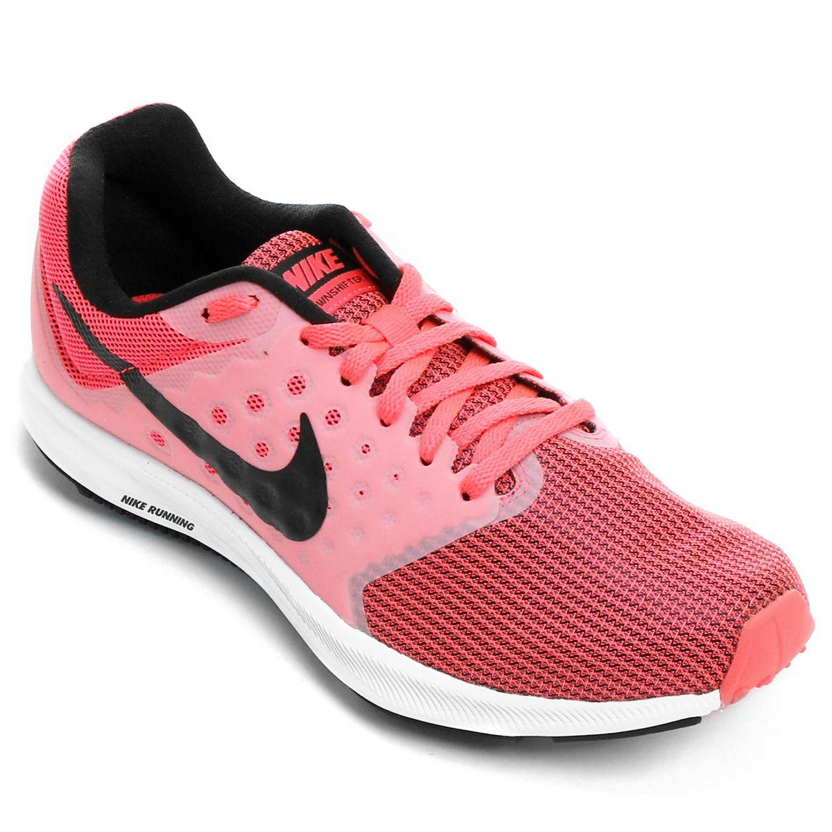 e094aa17818 Tênis Nike Downshifter 7 Feminino Preto e Cinza