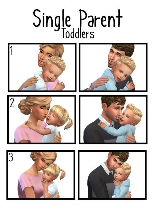 Single Pa Toddlers Please Note That These Are Close Cuddle Poses Because Of This And The Lack In Toddler Hair Choices Only Certain