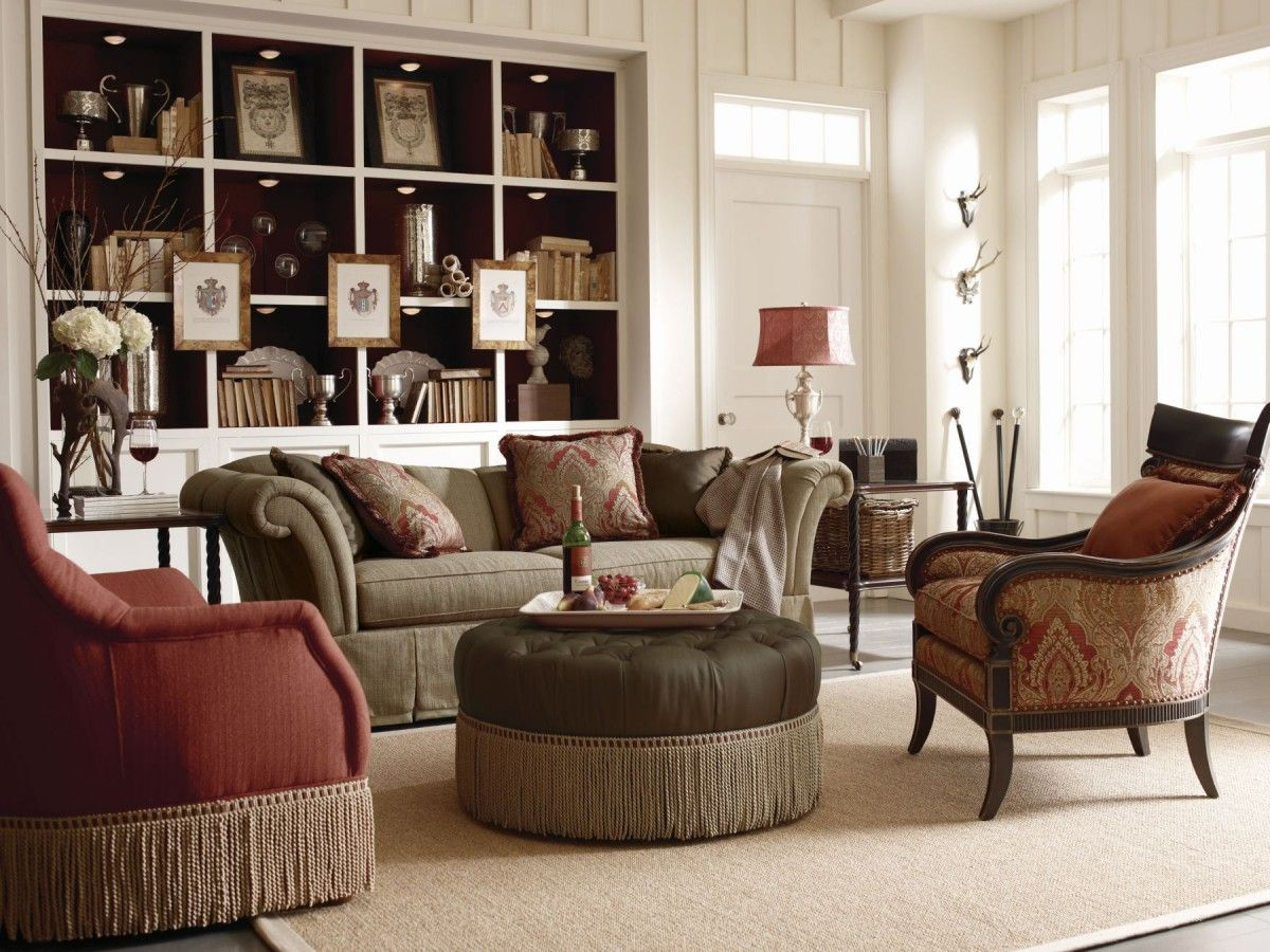 Sofas Facing Each Other - Transitional - Living Room - Zhush