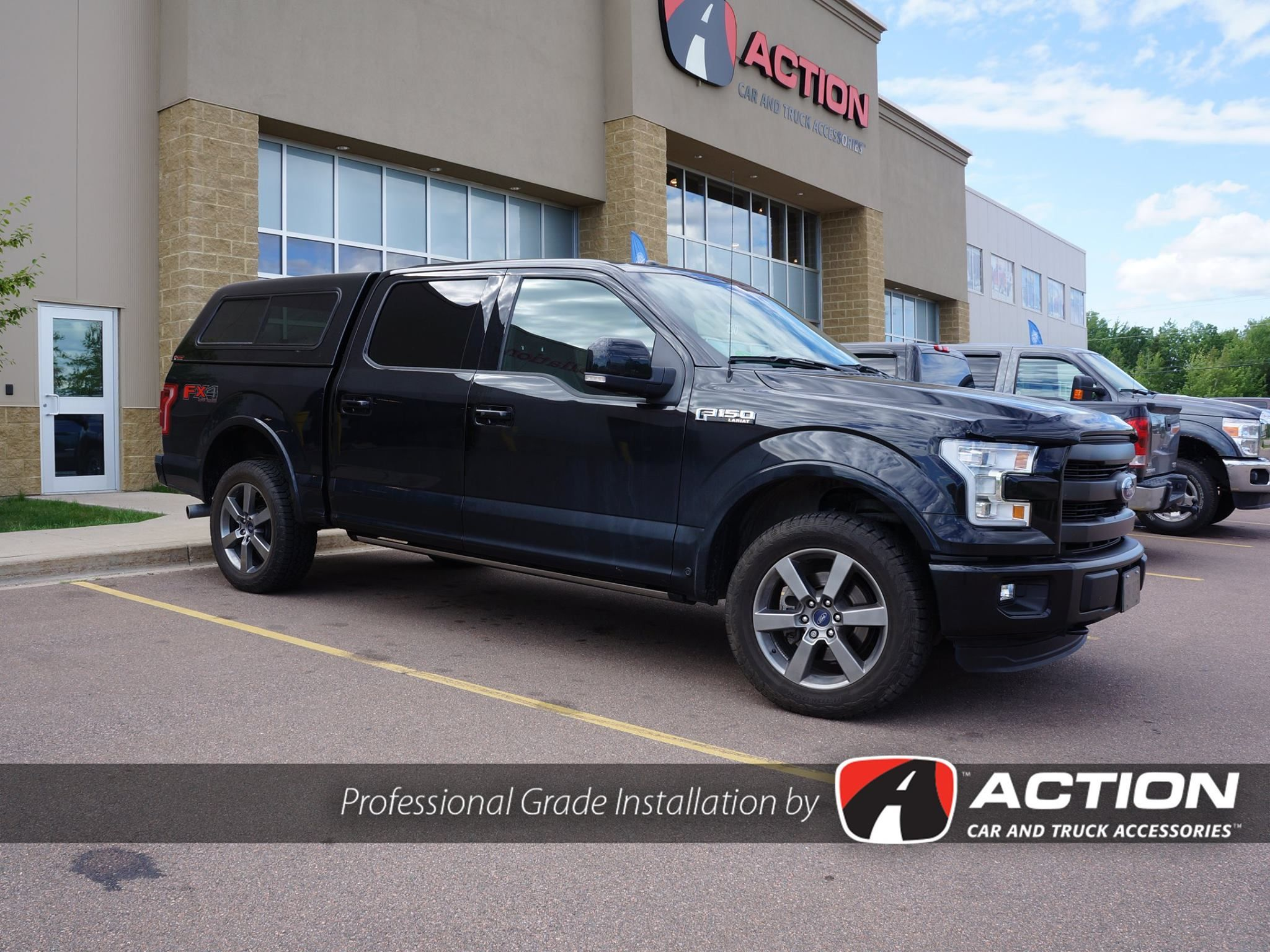 Contour iii cap installed on a new 2016 ford f150 lariat