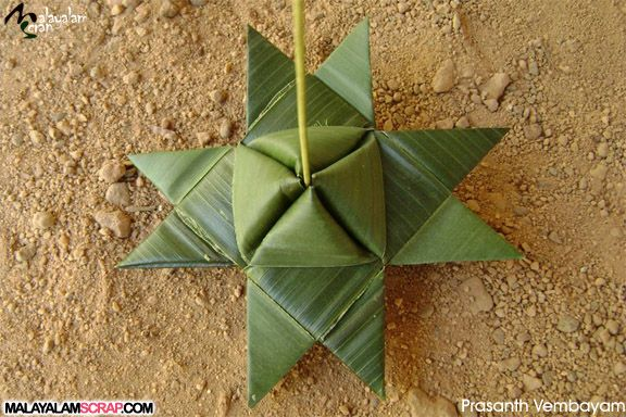 Layer Cake Recipe In Malayalam: Coconut Leaf Decorations