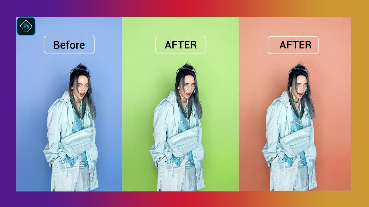 How To Change Background Color Of A Picture In Paint