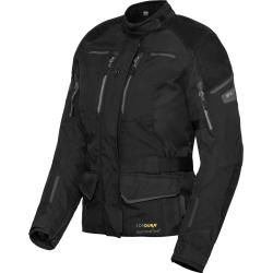 Photo of Flm Touren Damen Leder-/Textiljacke 4.0 anthrazit Größe S Flm