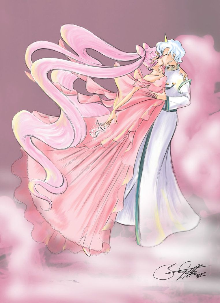 Girl Scouts Neo: Helios And Princess Lady Serenity By SilverCatseyes On