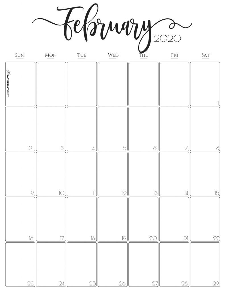 2021 Vertical Printable Calendar Photos