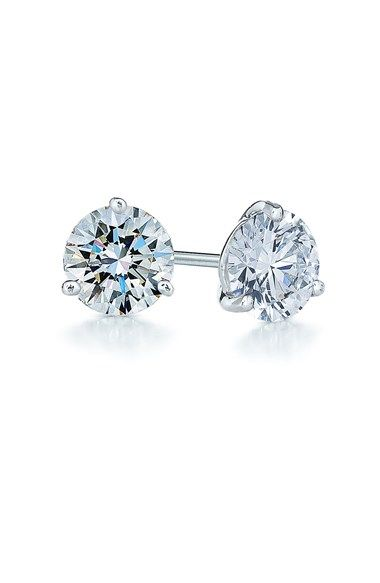 Kwiat 1ct tw Diamond & Platinum Stud Earrings (Nordstrom Exclusive) available at #Nordstrom