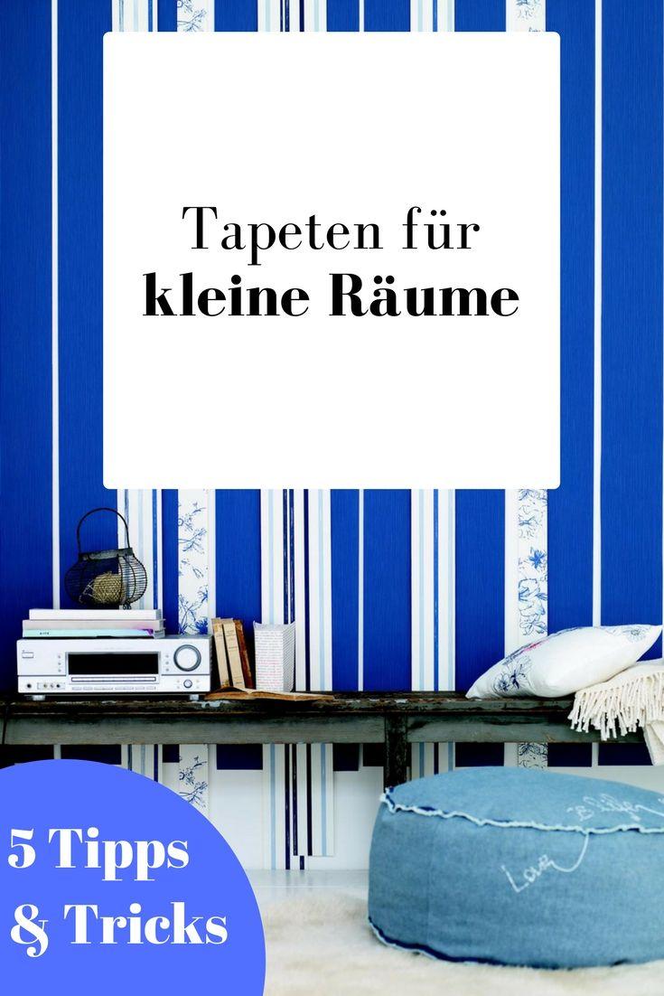 Wirkung Von Tapeten Raumwirkung Beeinflussen Tapetenmax Kleiner Raum Wohnzimmer Ideen Klein Tapeten