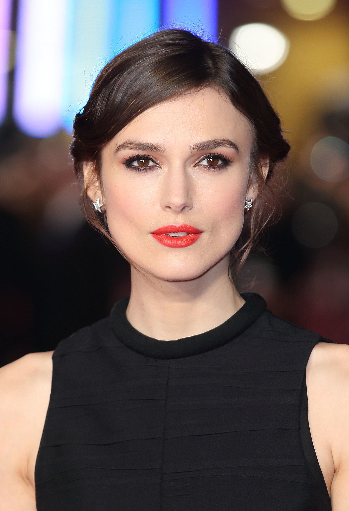 Your gif guide to keira knightleyus updo keira knightley makeup