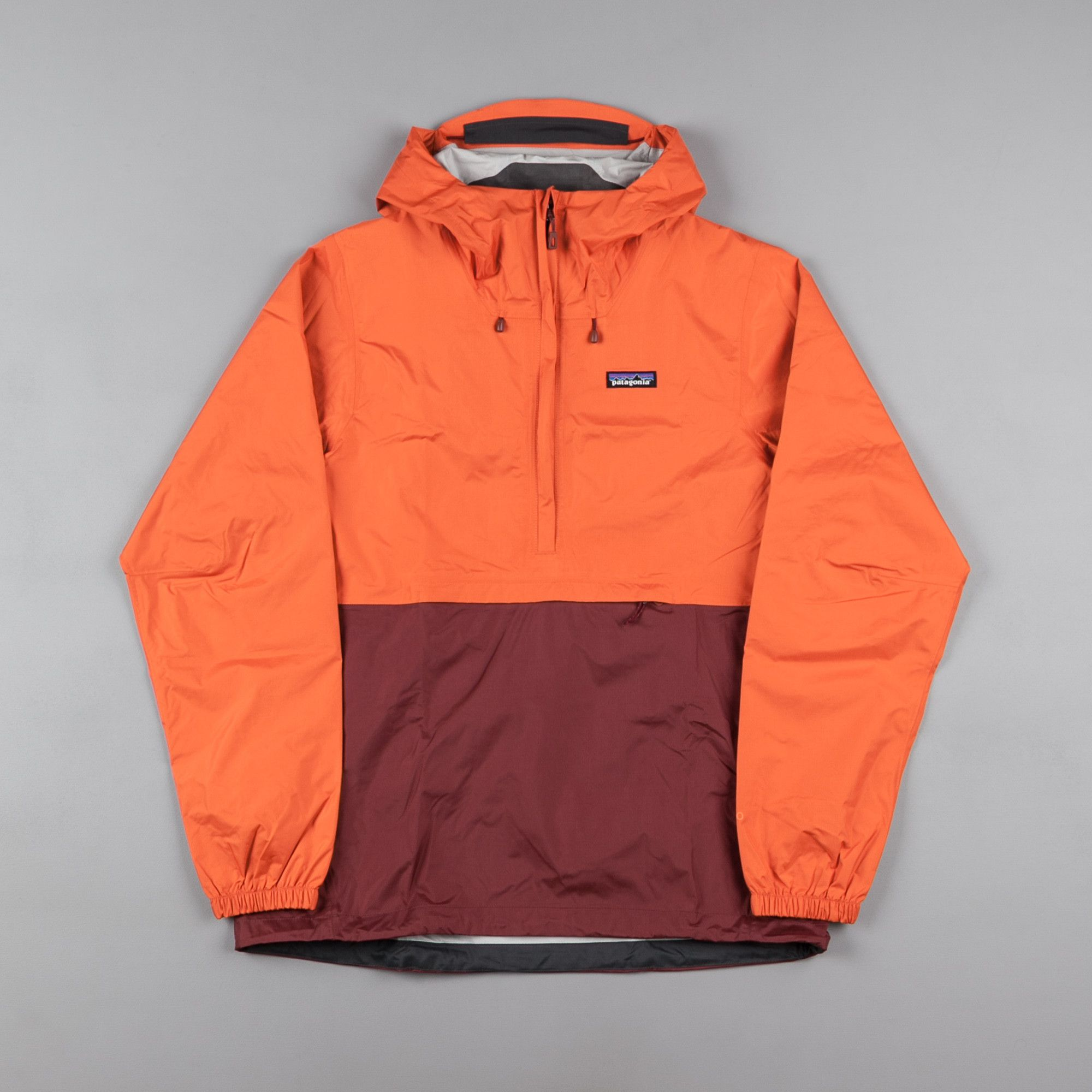 Patagonia Torrentshell Pullover Jacket - Cusco Orange | Patagonia ...