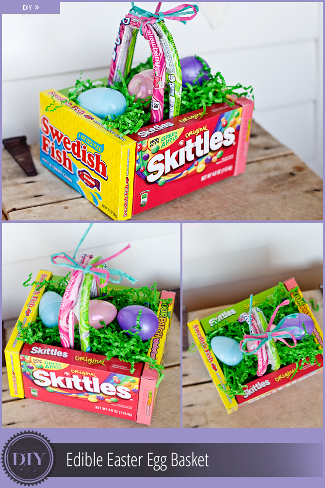 Diy edible easter egg basket easter egg basket egg basket and diy box candy easter basket link httpthekrazycouponladytips negle Image collections
